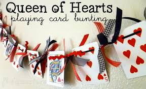 phat quarters blog lucky in love u2013 queen of hearts bunting