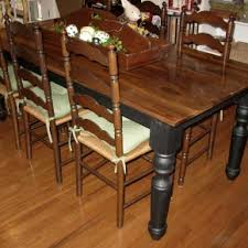 upscale farmhouse table classic dining furniture styles