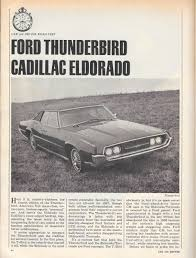 vintage reviews and commentary 1967 1968 cadillac eldorado u2013 the