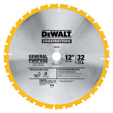 table saw blade width dewalt construction 12 in 32 teeth thin kerf miter slide miter