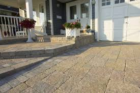 Unilock Michigan Driveway And Front Steps By Unilock With Stonehenge And Brussels