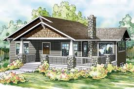 steep hillside house plans bungalow house plan lone rock 41 020 front steep hillside plans