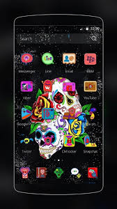 sugar skull theme android apps on google play