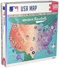 usa map jigsaw puzzle masterpieces mlb map jigsaw puzzle 500 toys