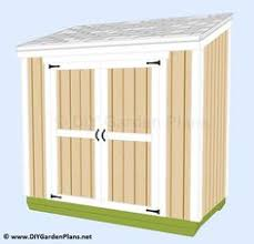 Diy Garden Shed Plans by Ana White Build A Small Outdoor Shed Or Closet Converted Into