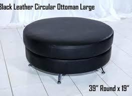 extra large sectional circular ottoman by dunbar at 1stdibs