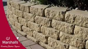 how to build a garden wall youtube