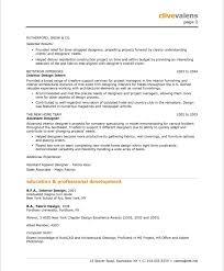 Example Of Skills In Resume by Interior Designer Resume Berathen Com