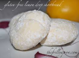 recipe gluten free lemon drop shortbread cookies the frilly apron