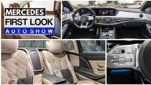 mercedes maybach interior 2018 2018 mercedes s class interior s550 amg maybach youtube