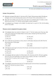 free profit and loss worksheet worksheets
