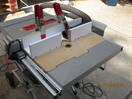 Ridgid Router Table Table Saw Router Crowdbuild For