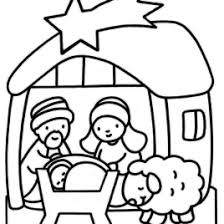 coloring page of baby jesus in a manger archives mente beta most