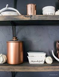 chic painted copper canisters a blissful nest