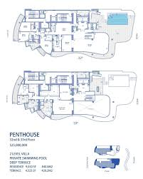 St Regis Residences Floor Plan Chateau Beach Condos For Sale Sunny Isles Beach