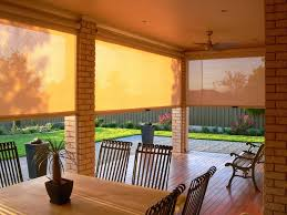 Roll Up Outdoor Blinds Articles With Exterior Porch Shades Tag Remarkable Exterior