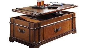 table pleasurable wooden storage chest coffee table amiable wood