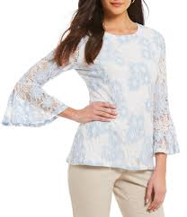 sleeve lace blouse lace s casual dressy tops blouses dillards com