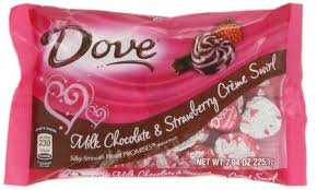 dove chocolate hearts dove promises milk chocolate and strawberry