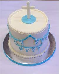 baby boy baptism cake gray barn baking