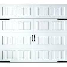 courtyard collection steel garage door9 foot door header size