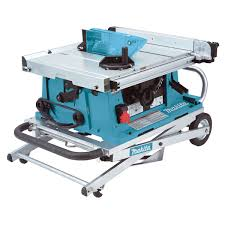 makita portable table saw 2704x table saw 10in 255mm 194093 8 stand 110v