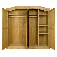 Solid Pine Kitchen Cabinets Wardrobes Solid Pine Bedroom Furniture Ebay Solid Pine Triple