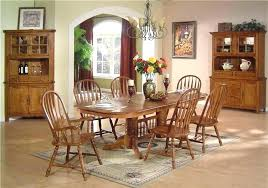 oak dining room sets with china cabinet dining room set with hutch furniture dining room buffet ed dining