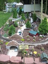 235 best garden railroads frombeginning images on pinterest