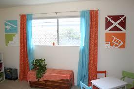 Orange And Blue Home Decor Kids Playroom