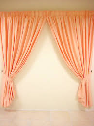 peach kitchen curtains should curtains match accent wall what colour go with white walls