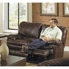 Catnapper Leather Reclining Sofa Catnapper Catalina Leather Reclining Sectional Steel Walmart Com