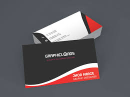 Red Business Cards 18 Best Free Business Card Templates Graphicloads