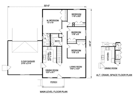 300 square foot house plans ranch style house plan 4 beds 2 00 baths 1232 sq ft plan 116 300