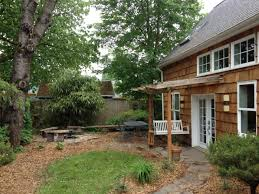backyard cottage designs this shingled backyard cottage has 1 bedroom and a small office in