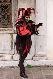 Carnival Halloween Costumes Details Harlequin Jester Clown Circus Costume Medieval