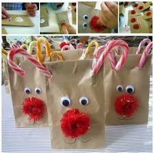 christmas treat bags for reindeer treat bags christmas