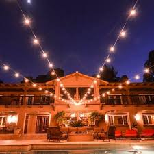 String Lights On Patio Outdoor String Lights Patio Ideas You Can Apply At Home