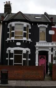 look at europe london painting the house black white trim