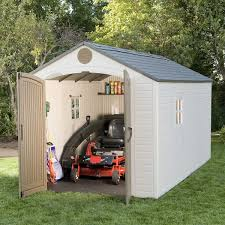 lifetime brighton 8 u0027 x 15 u0027 storage shed