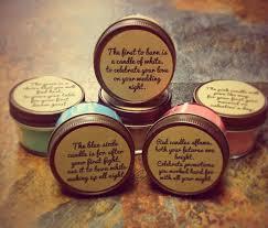 wedding gift set wedding or bridal shower candle poem gift set 1st year marrige