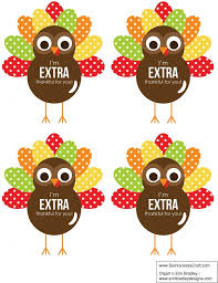 thanksgiving thankful turkey printable gift tag microsoft