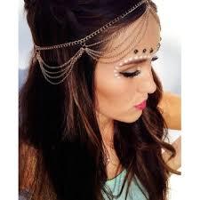 chain headpiece goddess chain headpiece