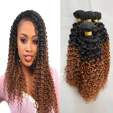Mongolian Curly Hair Extensions by Curly Hair Braid Extensions