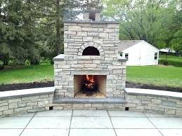 Pizza Oven Fireplace Insert by Outdoor Stone Fireplace Pizza Oven Patio Kits Outside Diy Uk