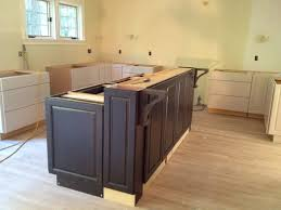 kitchen cabinet ends best choice of how to build a kitchen island with cabinets home