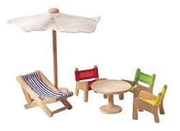 Outdoor Furniture Amazon by Amazon Com Plan Toy Doll House Patio Furniture Toys U0026 Games