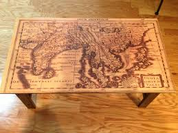 A Map Of The Caribbean Map Top Table Diy X Post From R Pics Caribbean Dresser And Beach