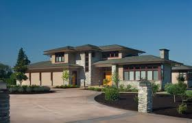 modern prairie style appealing contemporary prairie style house plans curve architecture