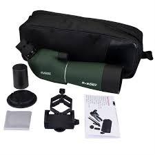 spotting scope window mount svbony 20 60x60 hd optic zoom waterproof spotting scope bird